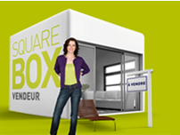 Square Box Vendeur